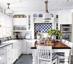 White Country Kitchen Best White Kitchens Pictures Of White - Country white kitchen cabinets
