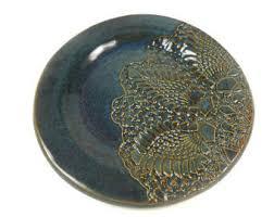 pottery plates etsy