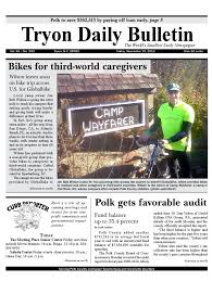 11 19 10 daily bulletin by tryon daily bulletin issuu