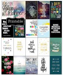 printable stencils quotes motivational happy planner sticker inspire stickers quotes ec