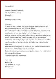 18 business proposal letter format sendletters info