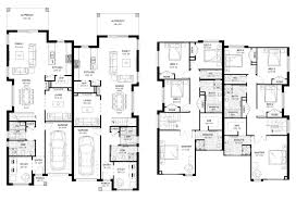Duplex Floor Plan by New Home Builders Forest Glen 52 5 Duplex Storey Home Designs