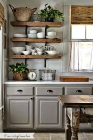 Wood Shelves Designs by 15 Great Design Ideas For Your Kitchen Rustic Shelving Kitchen