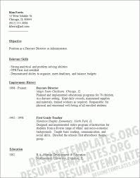 daycare assistant resume new 2017 resume format and cv samples