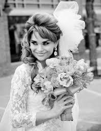 1960s inspired bridal hair makeup vine wedding 10