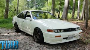 nissan sentra jdm cars nissan cefiro review the jdm rb20 four door youtube