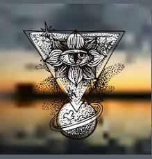 tattoo style sketch royalty free vector image vectorstock