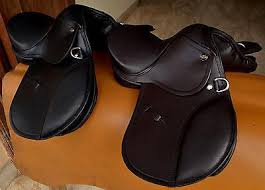 med si e sie 14 and 15 inches jumping leather saddle black