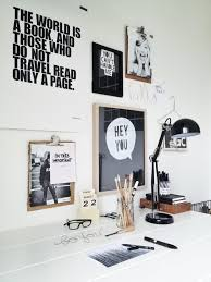 Black And White Home 50 Awesome Workspaces U0026 Offices Workspaces Deer Art And Walls