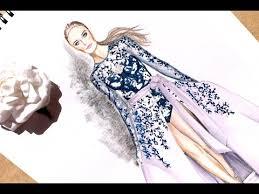 fashion illustration ralph u0026 russo haute couture fall 2016 2