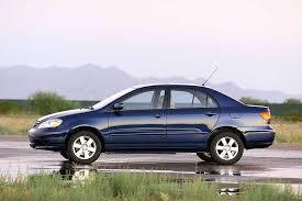 price of toyota corolla 2003 2004 toyota corolla overview cars com