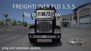 truck bumpers including freightliner volvo peterbilt kenworth freightliner fld v 1 5 5 by odd fellow american truck simulator mods