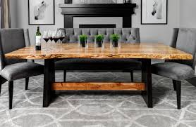 how to make dining room chairs dining table live edge dining table chairs live edge hardwood
