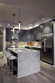 Contemporary Kitchen Lighting Apartment Kitchen Contemporary Light Grey Staradeal Com
