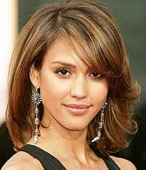 modern medium length haircut shoulder length hairstyles for thick