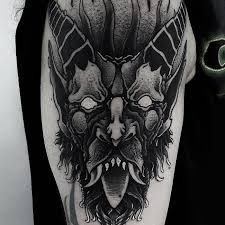 181 best selected black work tattoos parryz com