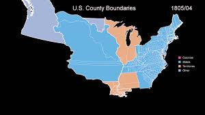 Colorado On The Us Map by Territorial History Of The Usa Every Month For 400 Years Youtube