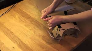 Ebay Laminate Flooring Unboxing Google Cardboard From Ebay Youtube