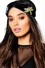 velvet headband saskia embellished velvet headband boohoo