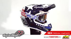 troy lee motocross helmets troy lee designs se4 composite freedom youtube