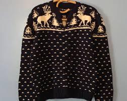deer sweater etsy