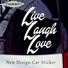 popular live laugh love car stickers buy cheap live laugh love car live laugh love vinyl decal sticker car truck window bumper wall laptop adhesive waterproof art car