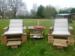 canapé de jardin en palette beau fabriquer un salon de jardin en palette et mobilier jardin