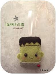 patterns felt mummy ornament by typingwithtea on etsy 4 00