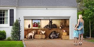 Garage Door Covers Style Your Garage garage door mural images french door garage door u0026 front door ideas