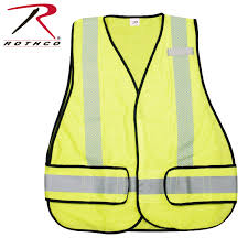 Construction High Visibility Clothing Rothco High Visibility Safety Vest