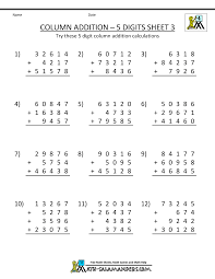 subtraction worksheets for 4th grade 4th grade subtraction