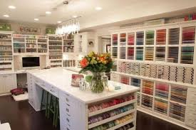 Home Craft Room Ideas - 40 ideas to organize your craft room in the best way digsdigs