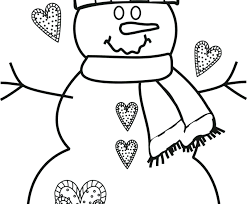 snowman coloring pages pdf coloring page snowman coloring page snowman free coloring pages