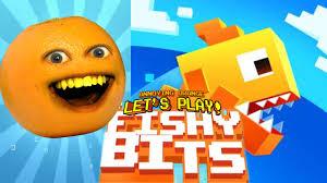 annoying orange plays fishy bits