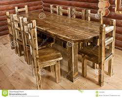 Table En Bois De Cuisine by Grande Table De Cuisine En Bois Gascity For