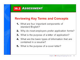 section 38 2 applying for a job ppt download