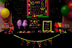 blacklight party supplies 15 awesome glow in the birthday party ideas spaceships and