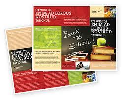 school brochure design templates back to school brochure template 02867 brochure newsleter email