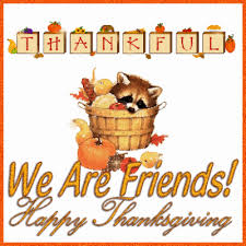 are friends happy thanksgiving graphic