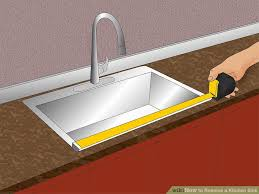 how to remove a kitchen sink 14 steps with pictures wikihow