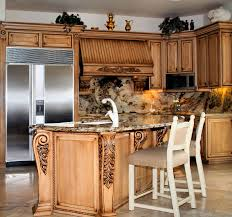 decorating your interior home design with cool fancy kitchen