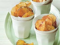 Cape Cod Russet Potato Chips - smoky oven baked potato chips recipe myrecipes