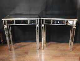 Mirrored Side Table Mirrored Side Tables Cocktail Table Mirror Furniture Art Deco