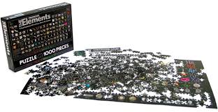 Table Jigsaw Chemistry Periodic Table Jigsaw Puzzle
