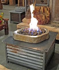 Diy Propane Firepit Diy Propane Table Autour