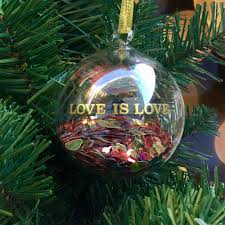 2016 hrc ornament love is love limited edition
