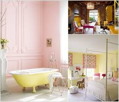 Yellow And Pink Bathroom Color Schemes To Brighten A Room