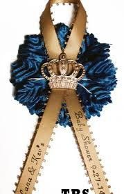 baby shower ribbon royal theme baby shower pin on with printed ribbon affordable