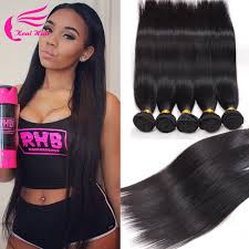 the best sew in human hair 7a peruvian virgin hair straight 5 bundle deals 100 human hair sew