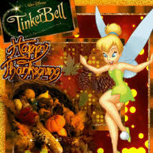 animated tinkerbell thanksgiving quote pictures photos and